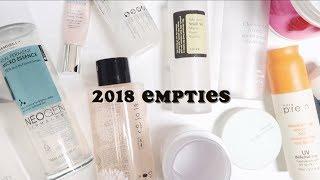 2018 TRASH TALK: Korean Skincare I Finished Using Last Year!