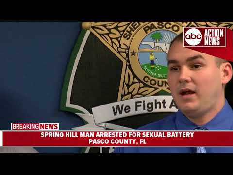 Xxx Mp4 Man Lured Young Girls On App Had Sex With 12YO Pasco Sheriff Press Conference 3gp Sex