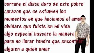 Se Que Te Quieres Ir-Luis Silvestre[[2011]]..con letraa  . Espinoza Paz