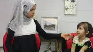 Mashahallah young Muslim girl doing her first interview and very cute guest as well Must watch
