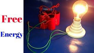 Free Energy Generator Light Bulb 220v 200 Watt With Electric Motor Capacitor