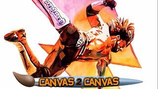 A Phenomenal Tribute to AJ Styles: WWE Canvas 2 Canvas
