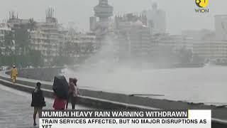 India: Heavy rain warnings withdrawn from Mumbai