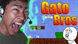 Gato Bros (Syobon Action) en español por fernanfloo