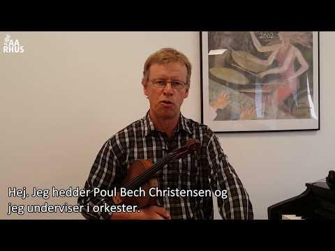 Mød FOF Aarhus' underviser: Poul Bech Christensen