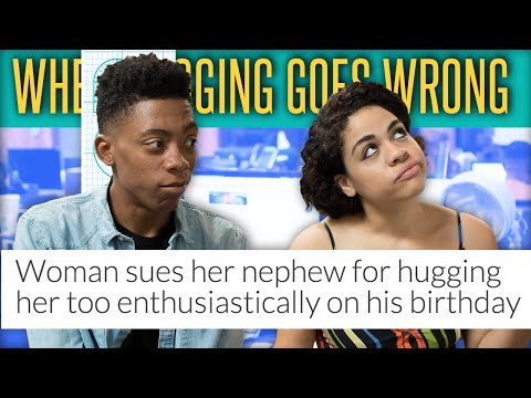 Aunt Sues 12-Year-Old Nephew for $127K After Hugging Too Tight- The Drop Presented by ADD