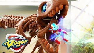 Space Ranger Roger | T Rex at the Museum | Cartoons For Children | Cartoons For Kids