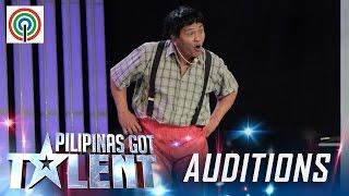 Pilipinas Got Talent Season 5 Auditions: Daniel Bautista - Yoyoy Villame Impersonator