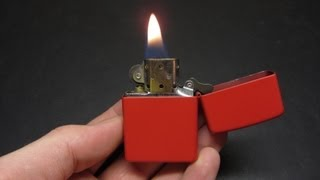 Carrying a Zippo when you don
