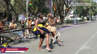 State of the Nation Address - ZRP Traditional Dance group provides entertainment, 18 Sept, 2018