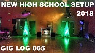 DJ Gig Log 065 | MHS Winter Formal | NEW SETUP | ADJ Pro Event Table