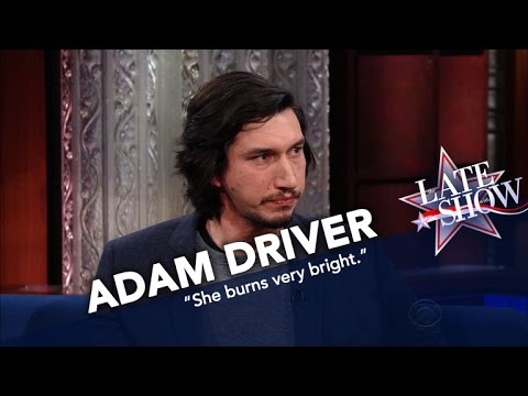 Adam Driver Remembers Star Wars Co Star Carrie Fisher