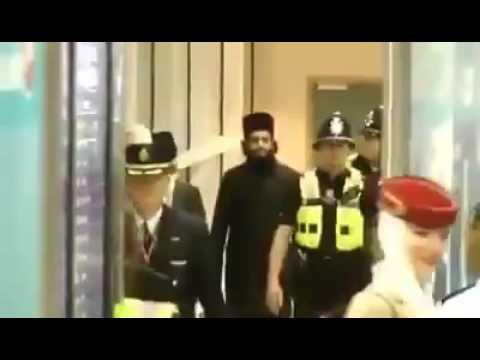 Peer Naqeeb ur Rehman arrival in Bermingum