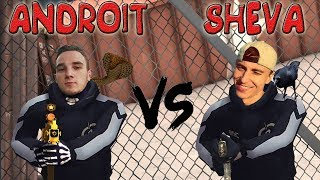 Контра Сити: AndroiT vs Sheva - 1х1 - [ЭПИК БИТВА] 🎥🎥🎥