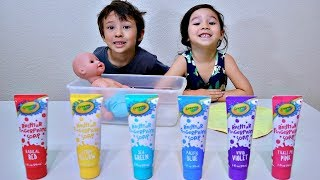 Learn Colors and Pretend Play with Baby Doll Toy