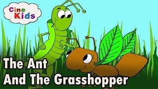 The Ant and The Grasshopper Story |  Kids Story In English | Stories For Kids In English