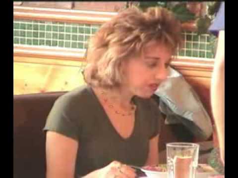 Sexy Candid al ristorante Libero Video