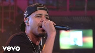 J. Cole - Kenny Lofton (Lights Please) (Live on Letterman)