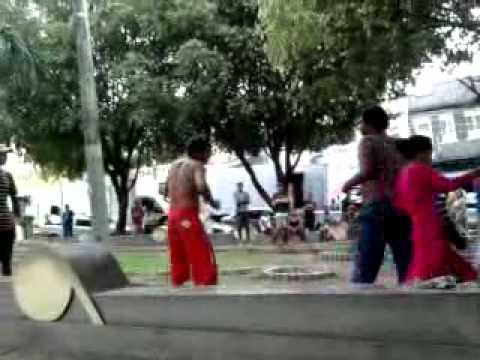 BRIGA DE BÊBADOS ROCKY BALBOA DO AMAZONAS