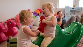 Get An Exlusive Tour Of The Quints' Playroom With Danielle Busby And The Girls!