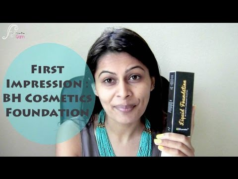 First Impression Review : BH Cosmetics Liquid Foundation on Indian, Brown , Tan, Olive Skin Tone