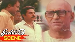 Rowdies Fight With Mammootty - Action Scene - Dalapathi Movie Scenes