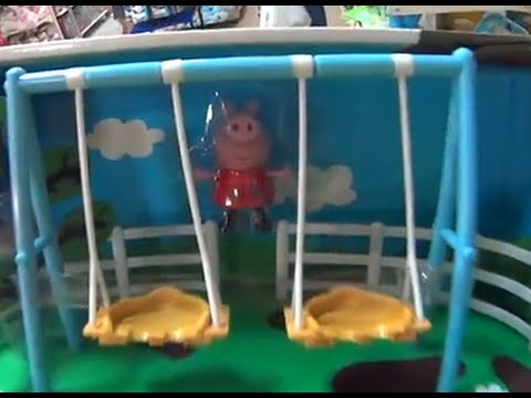 Peppa Pig a porquinha cor de rosa Parque da Peppa Pig filme desenho Estrela brinquedo