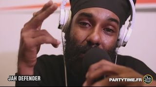 JAH DEFENDER - Freestyle at Party Time radio Show - 31 JANV 2016
