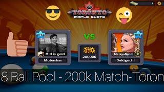 8 Ball Pool - 200k Match-Toronto!
