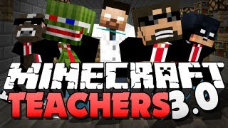 Minecraft TEACHER 3.0 - FIRE IS A BAD IDEA IN SCHOOL!!