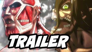 Attack On Titan Season 2 Trailer Clash of The Titan Shifters