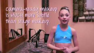 Abby Lee Dance Secrets- Maddie Zieglers Makeup Tutorial!!