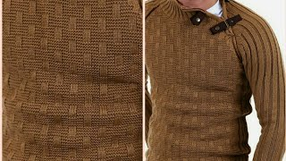 Gents Sweater Border Design And Easy Gents Sweater Design In Hindi