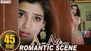 Nithiin Samantha Romantic Scene   Nithiin, Samantha   Trivikram