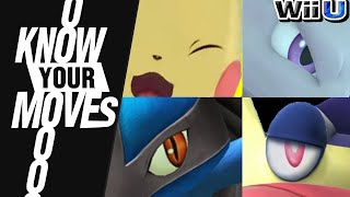 ALL the Pokémon of Smash Bros!  - Know Your Moves