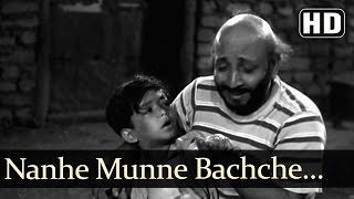 Nanne Munne Bachche - David - Boot Polish - Asha - Rafi - Bollywood Kids Songs - Nursery Rhymes