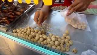 Mini Onde-Onde (Indonesian STREET FOOD)