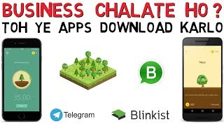 Top 5 BUSINESS Apps in Hindi | Best Must Download Startup Business Apps in India | Business Tips