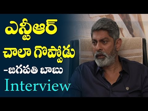 Xxx Mp4 Jagapathi Babu Great Words About Jr Ntr Aravindha Sametha Movie Exclusive Interview Film Jalsa 3gp Sex