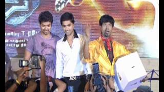 Osthe Audio Function | Vijay and Simbu on Stage | Richa Gangopadhyay | S Thaman