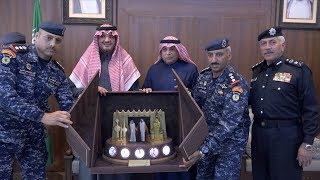 زيارة صاحب السمو الملكي الامير عبد العزيز بن سعود بن نايف آل سعود  لمعسكر قوات الأمن الخاصة