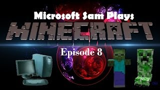 Microsoft Sam Plays Minecraft Season 1 Episode 8 | COLOR DYE MADNESS PART 2