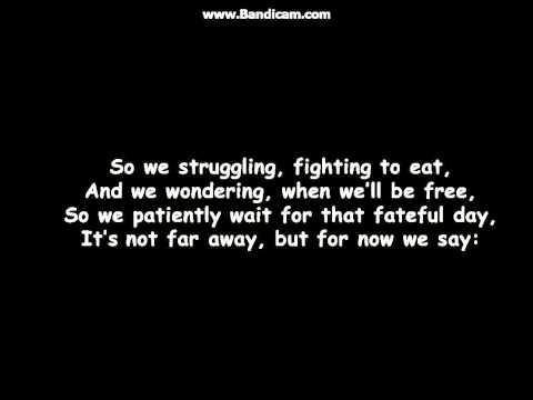 Download Wavin Flag lyrics free