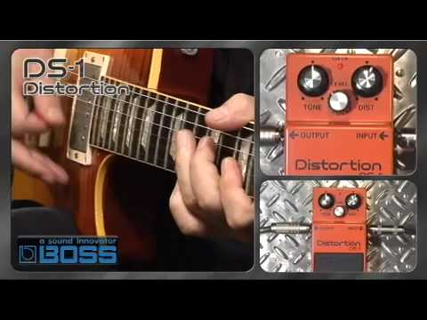 DS 1 Distortion BOSS Sound Check