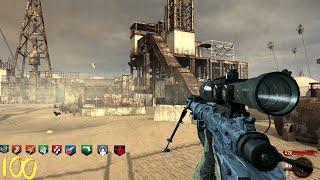 RUST ZOMBIES CUSTOM MAP - NO PERK LIMIT & INSANE MW2 GUNS! (World at War Custom Zombies Mod Part 1)