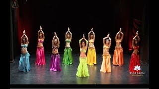 Drum Solo Belly Dance - Fleur Estelle Dance Company