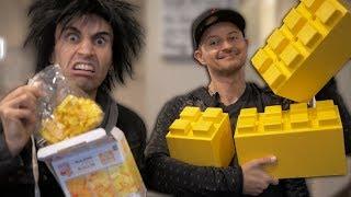 $4 LEGO Set vs $1,000 LEGO Set