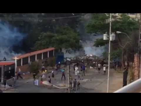 Protesta Res.San Cristóbal, Táchira