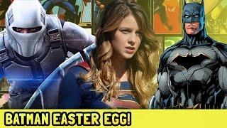Batman Easter Egg! Supergirl Season 2 Episode 20 Nerdgasm Recap and Easter Egg