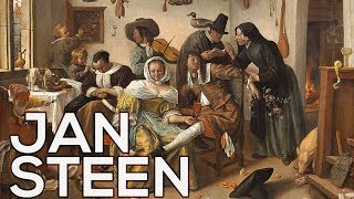 Jan Steen: A collection of 183 paintings (HD)